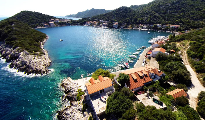 Zaklopatica-bay-on-island-Lastovo-Croatia