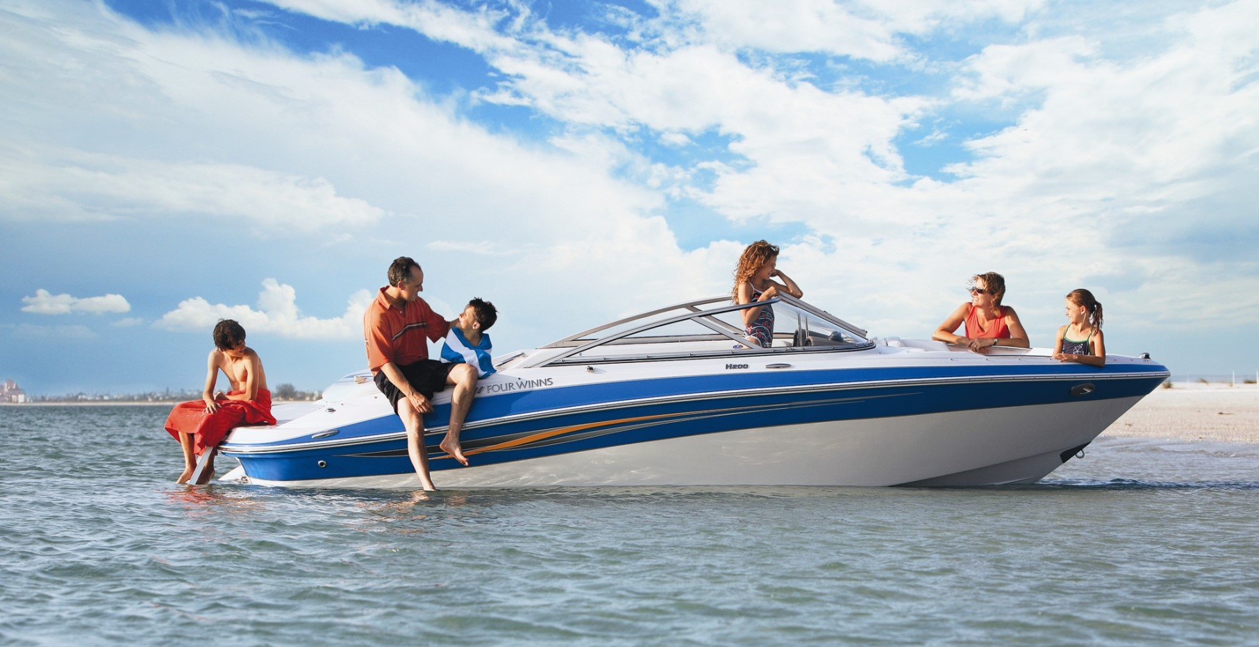 Family on a boat, Choose the perfect boat