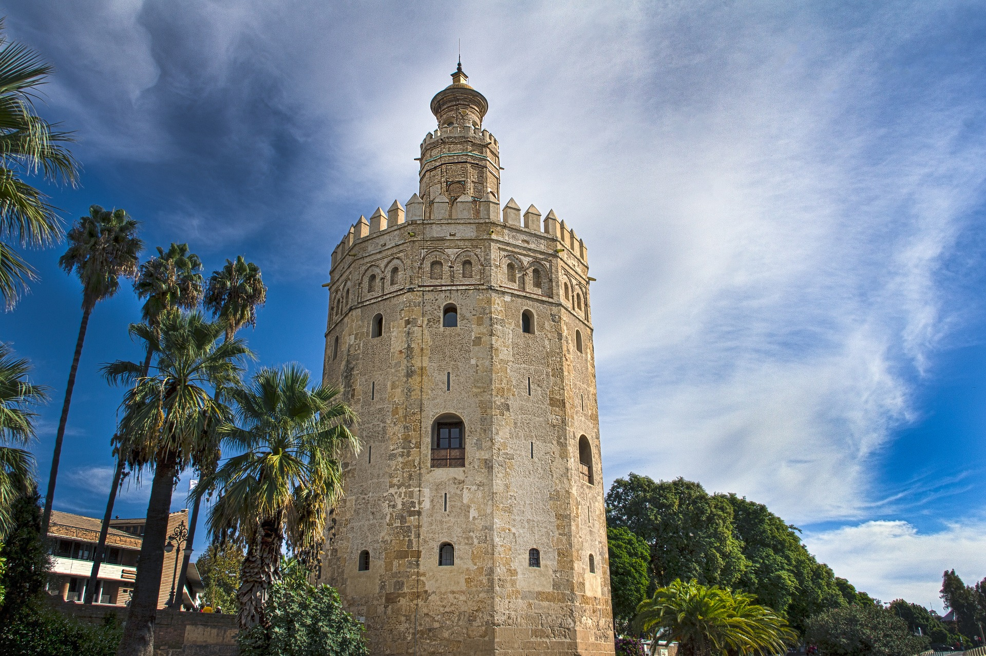 Historic site in Spain, rent a boat in Spain