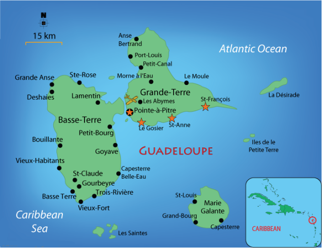 Sailing Territory of Guadeloupe