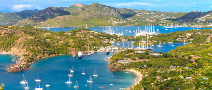 The many ports of Antigua and Barbuda