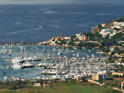 Luxurious Yachts in the Port d'Andratx