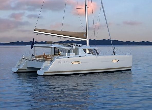 Sail in Guadeloupe with this Fontaine Pajot Helia 44 Evolution