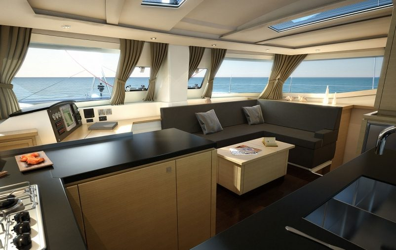 Catamaran charter: Fontaine Pajot Helia 44 Evolution