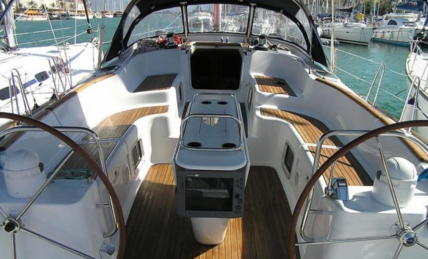 Rent the best sailing boat in Guadeloupe Jeanneau Sun Odyssey 54 DS