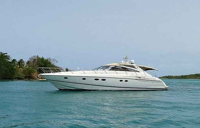 Yacht Princess V58 charter in Guadeloupe