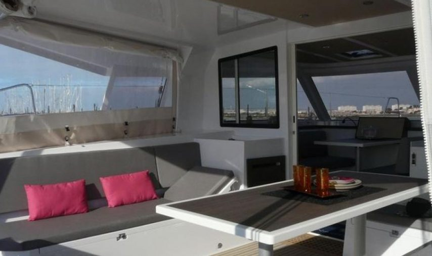 Nautitech Open TS 42 boat rental in Martinique