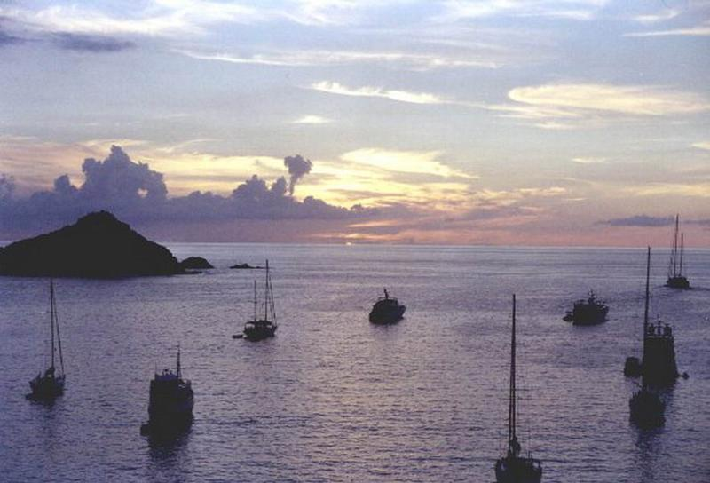 Sailing St Martin can be this beautiful