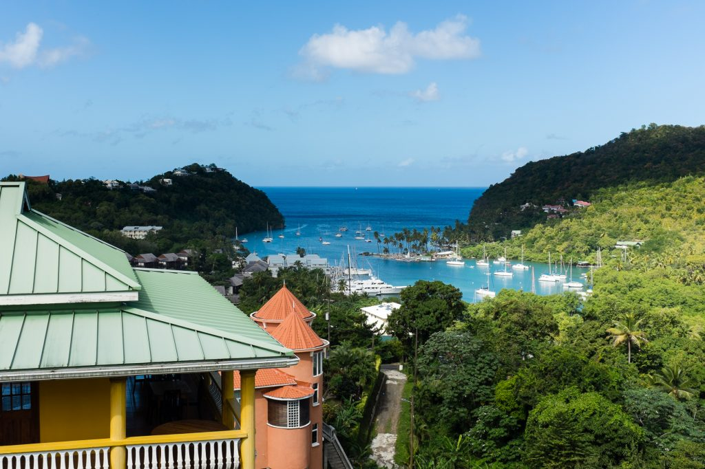 Find a St Martin boat charter in Marigot Bay