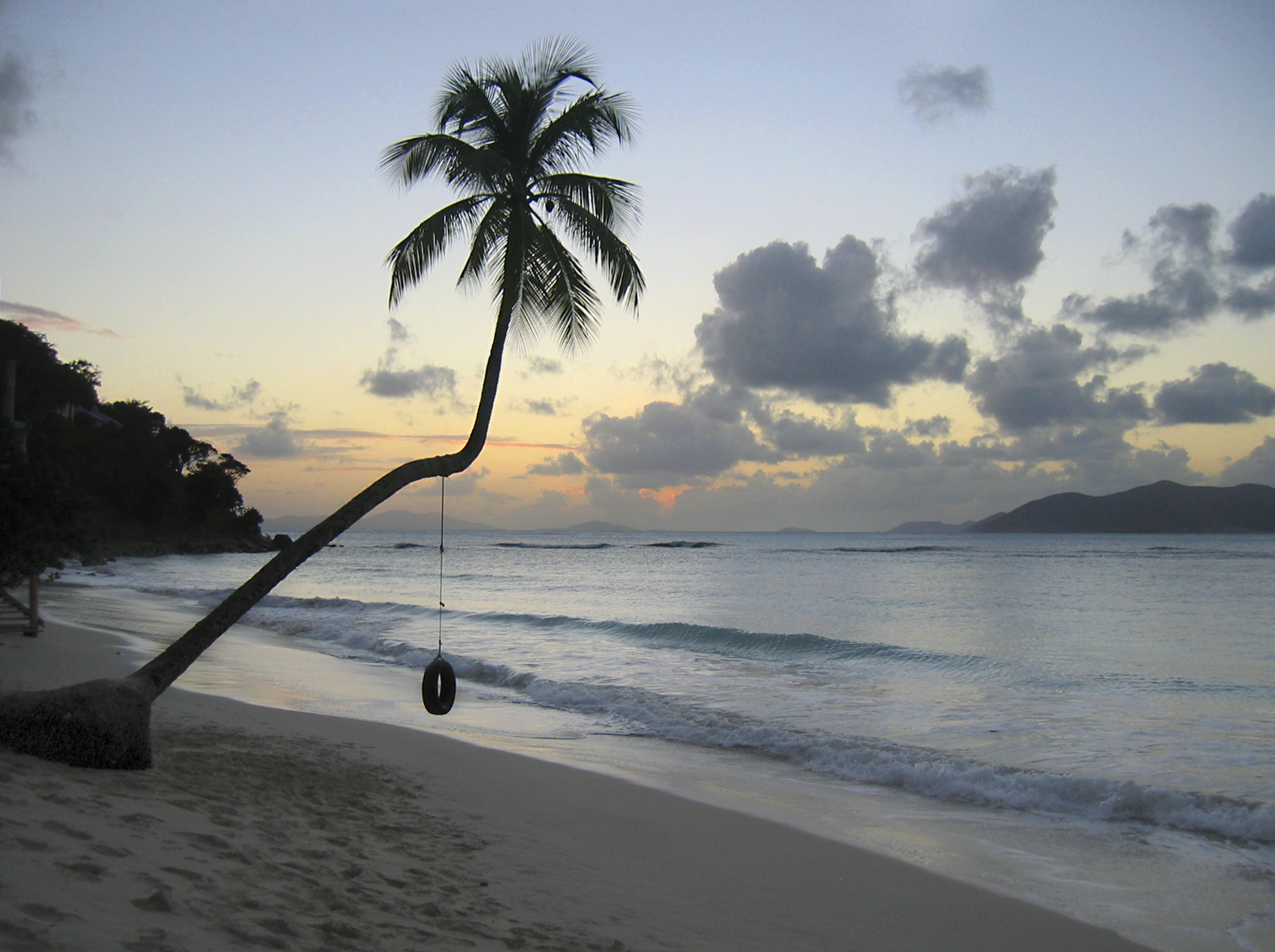 Start your BVI sailing route and visit Tortula