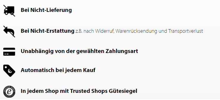 Trusted Shops bei Nautal