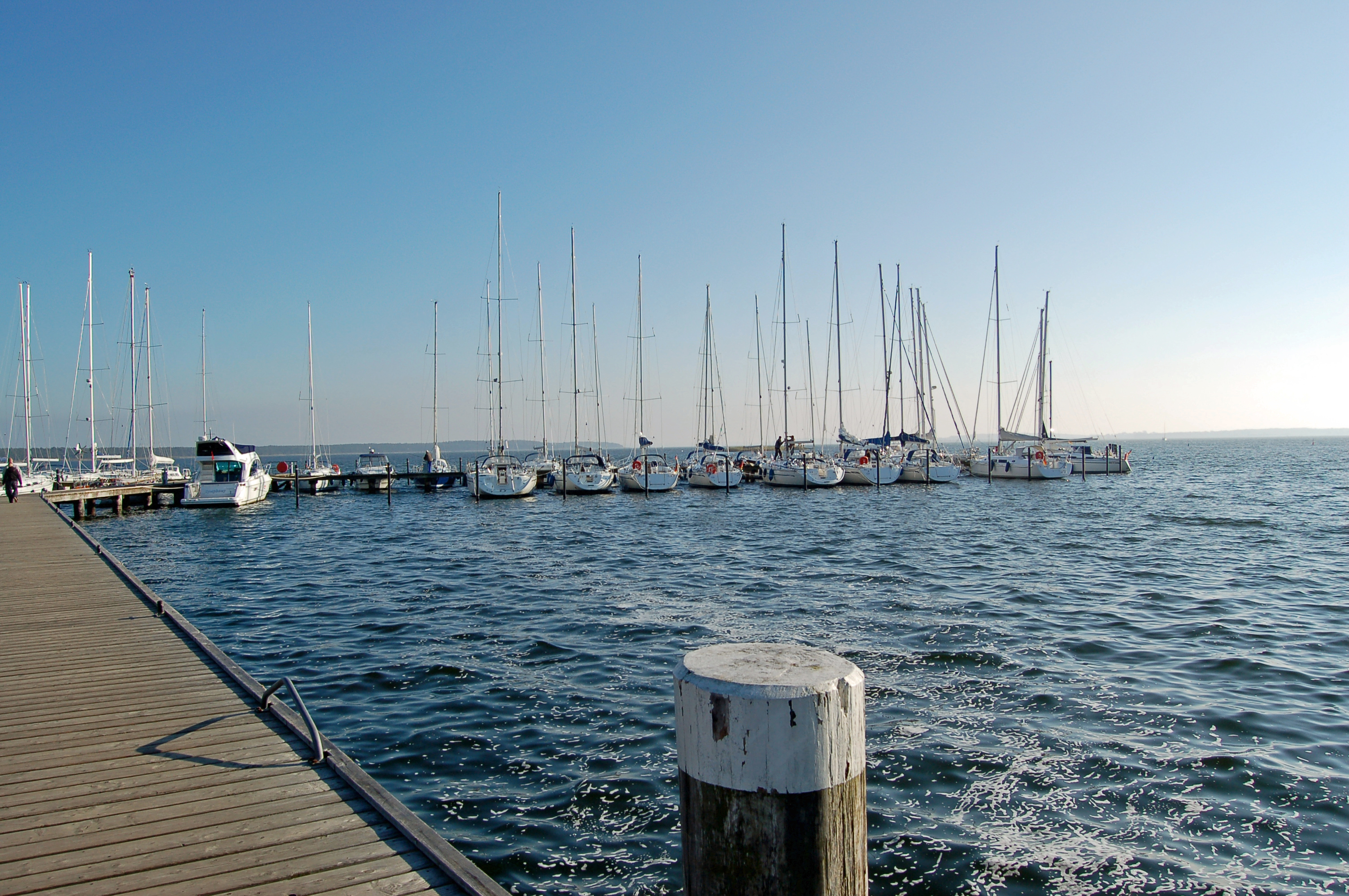 Segelroute Ostsee
