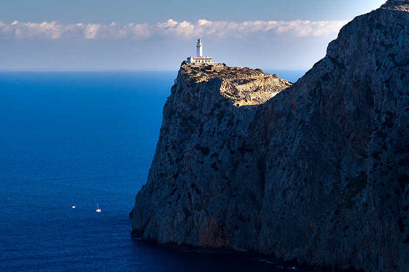 The breathtaking scenery of Cap Formentor