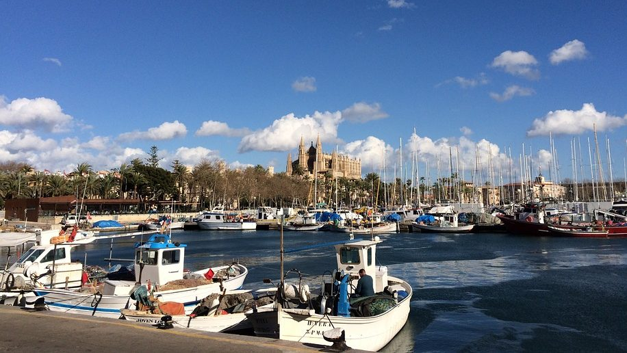The Port of Palma de Majorca