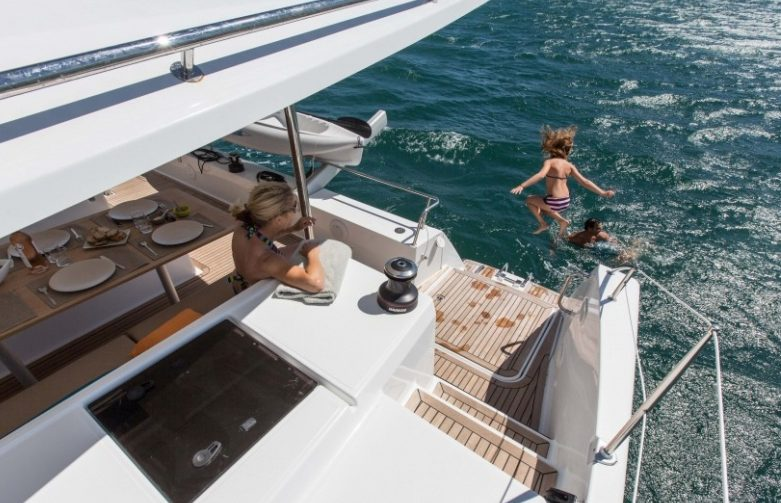 Enjoy a sailing holiday in Guadeloupe aboard the Fontaine Pajot Helia 44 Evolution