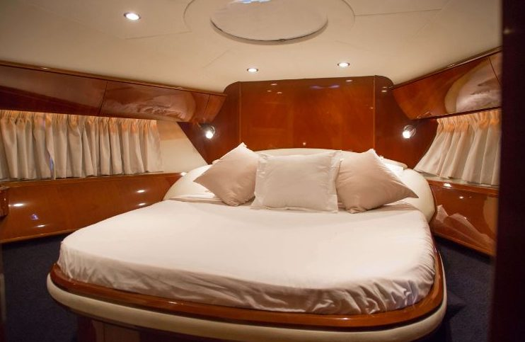 Charter the amazing Princess V58 yacht in Guadeloupe