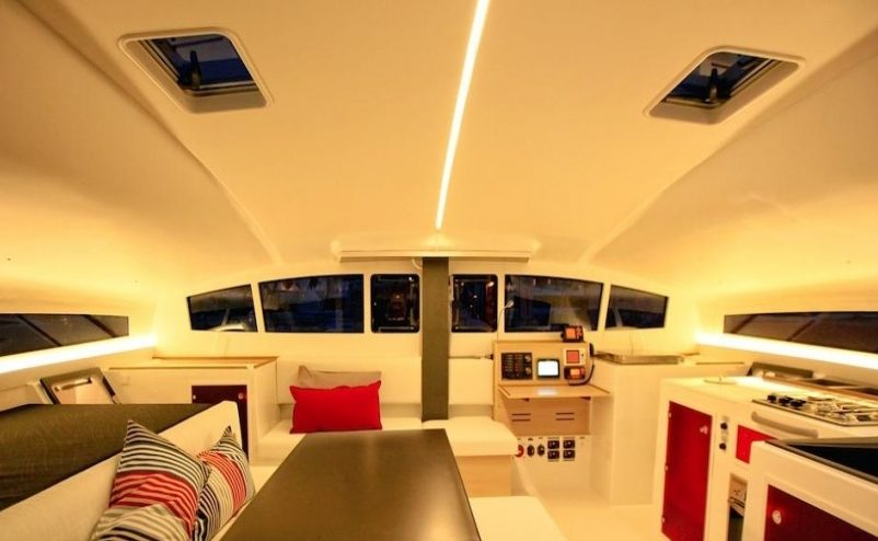 Enjoy your sailing holiday in Martinique with the XL Catamaran TS 42