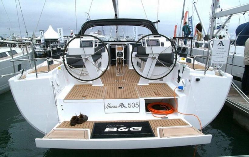 Sail with a Hanse 505 in Martinique