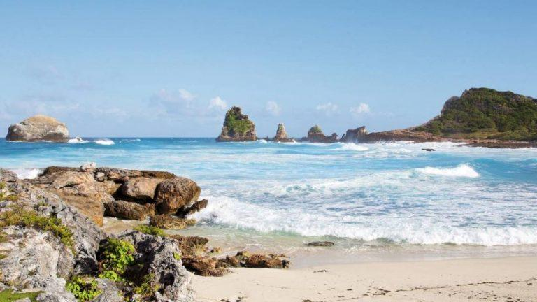 Spend your day on the beach on your holiday in Guadeloupe