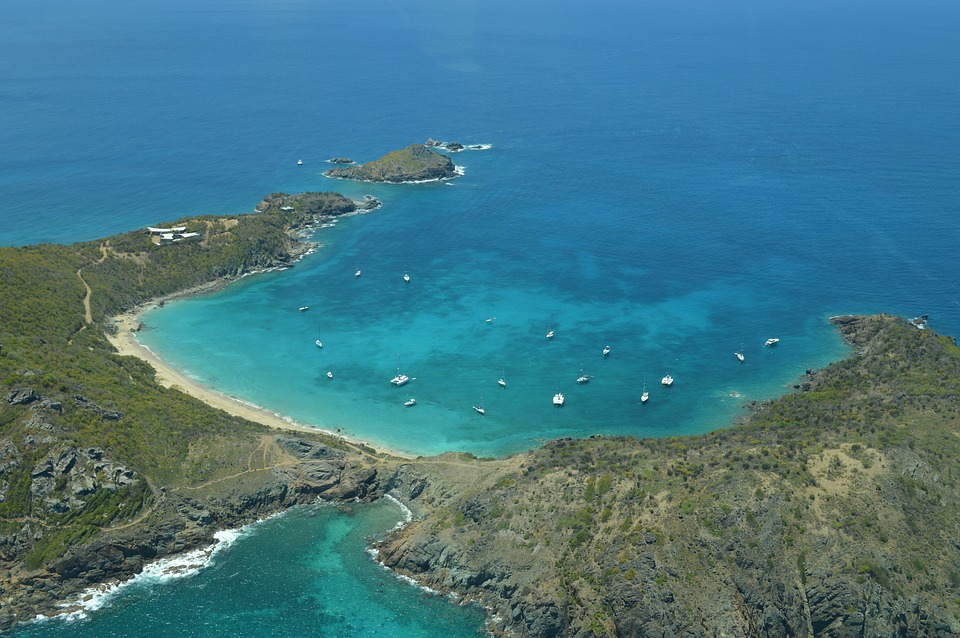Be sure to stop in St Barths when sailing around St Martin