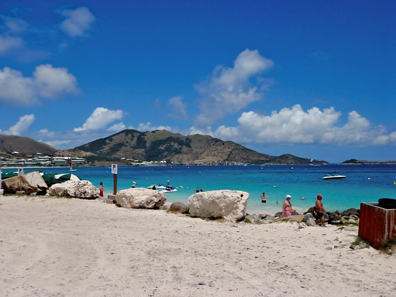 Be sure to visit Orient Bay during your St Martin boat charter