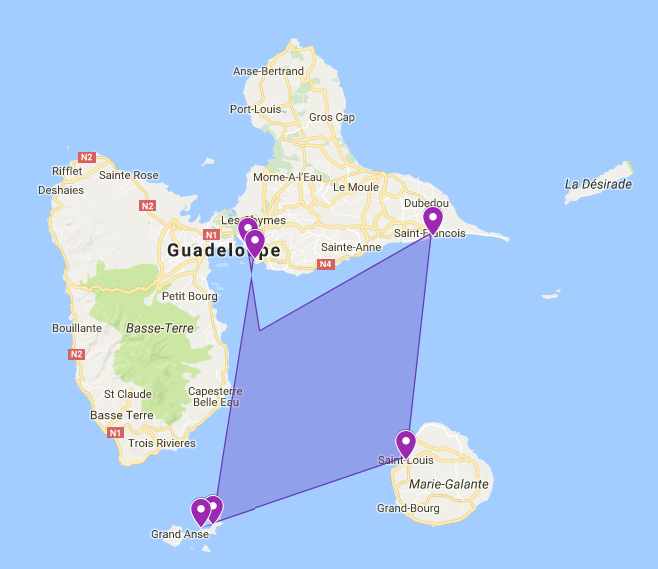 Start your adventure with a boat charter in Guadeloupe
