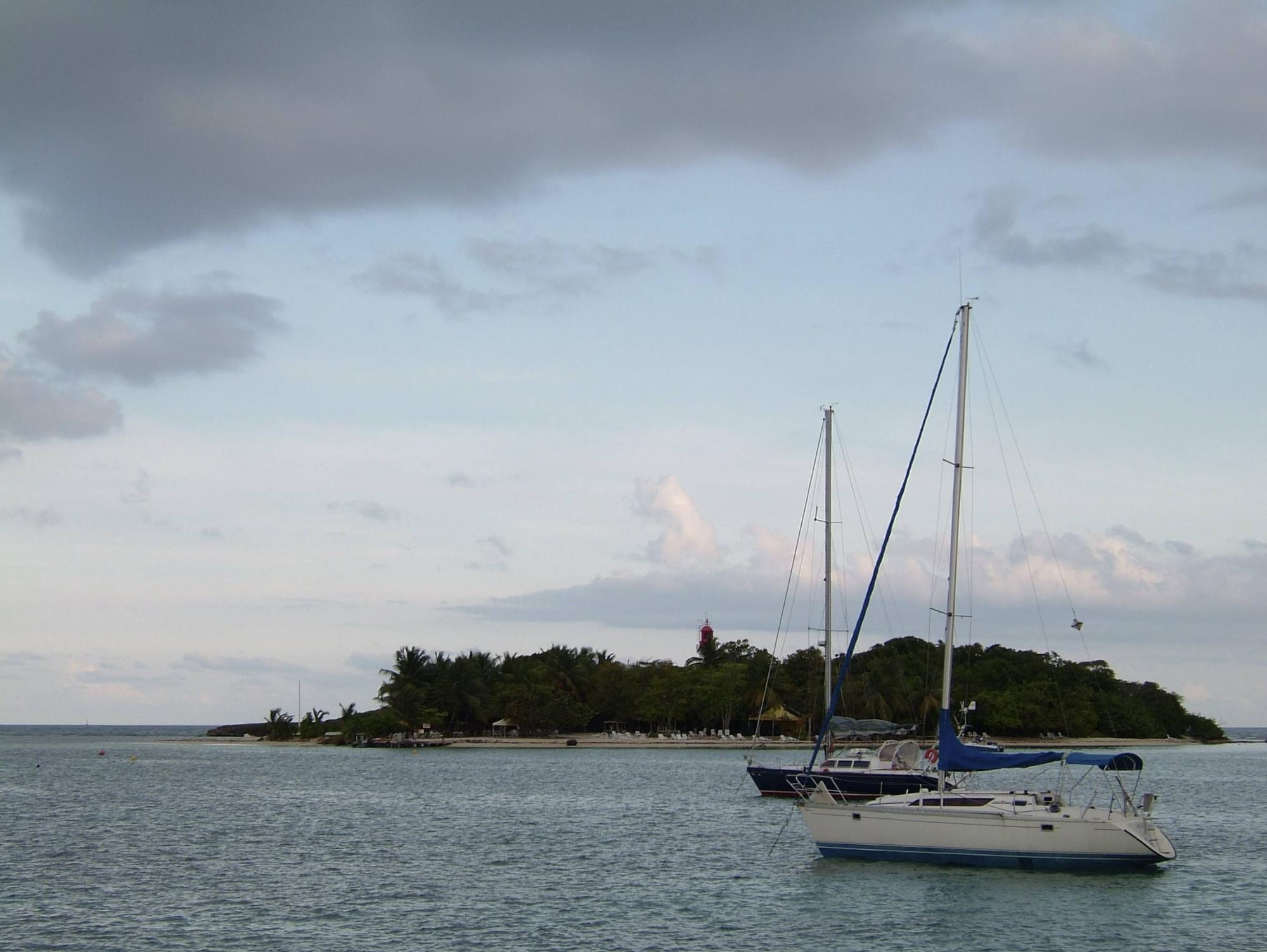 Discover untouched nature on your Guadeloupe sailing route