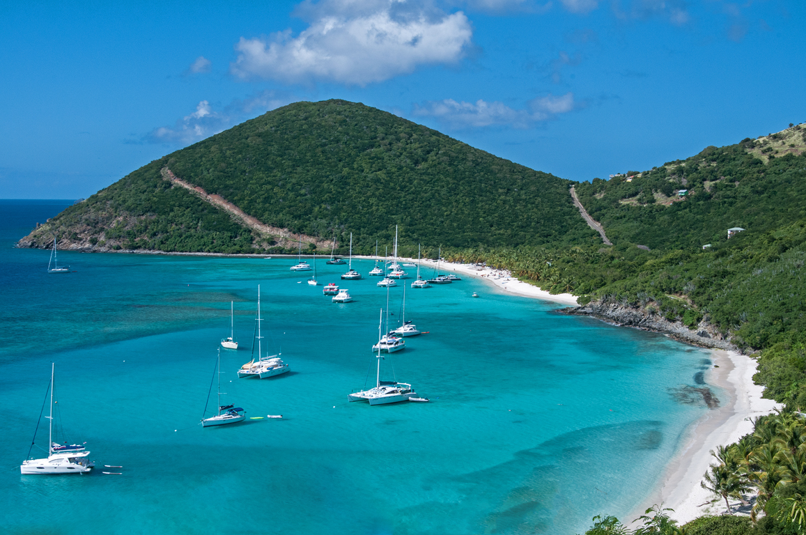 Start your BVI yacht charter and sail in the Caribbean