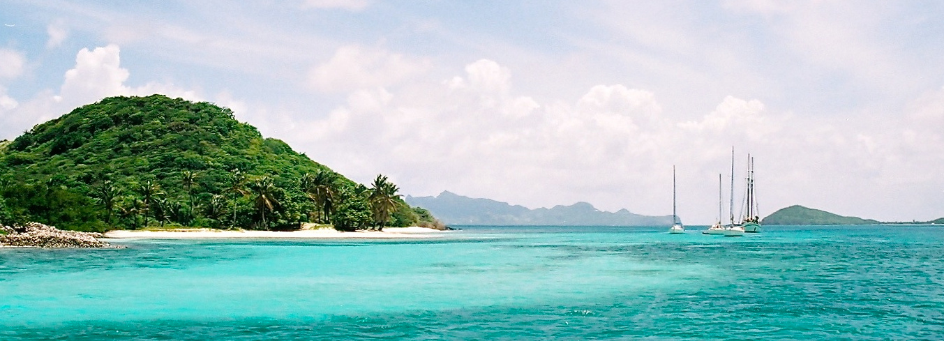 Sailing in the windward islands is a dream come true