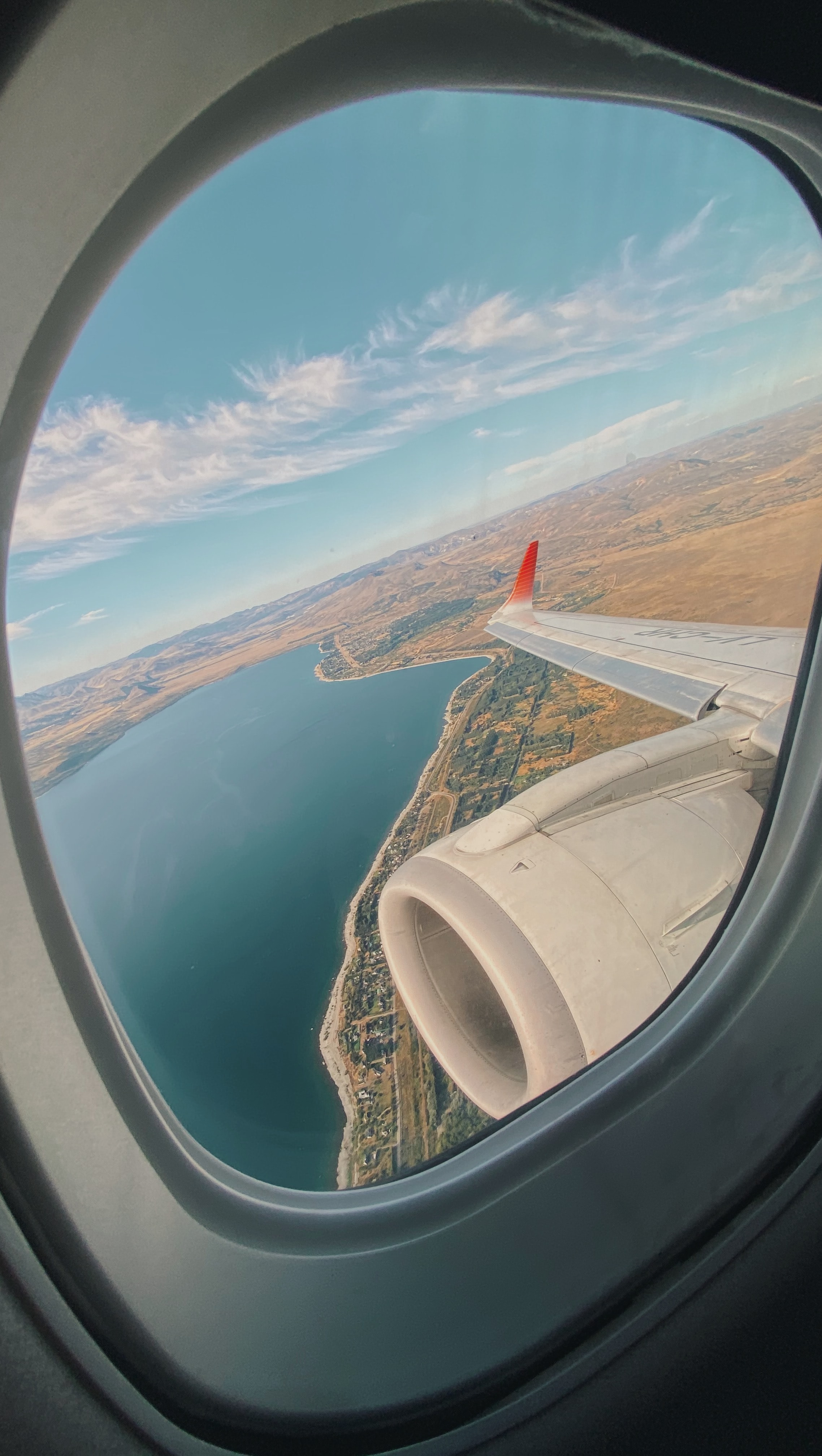 See Views from the window of an airplane