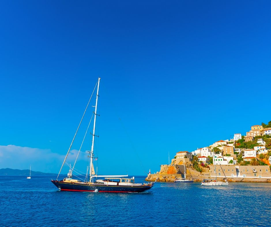 Saronic Islands by boat