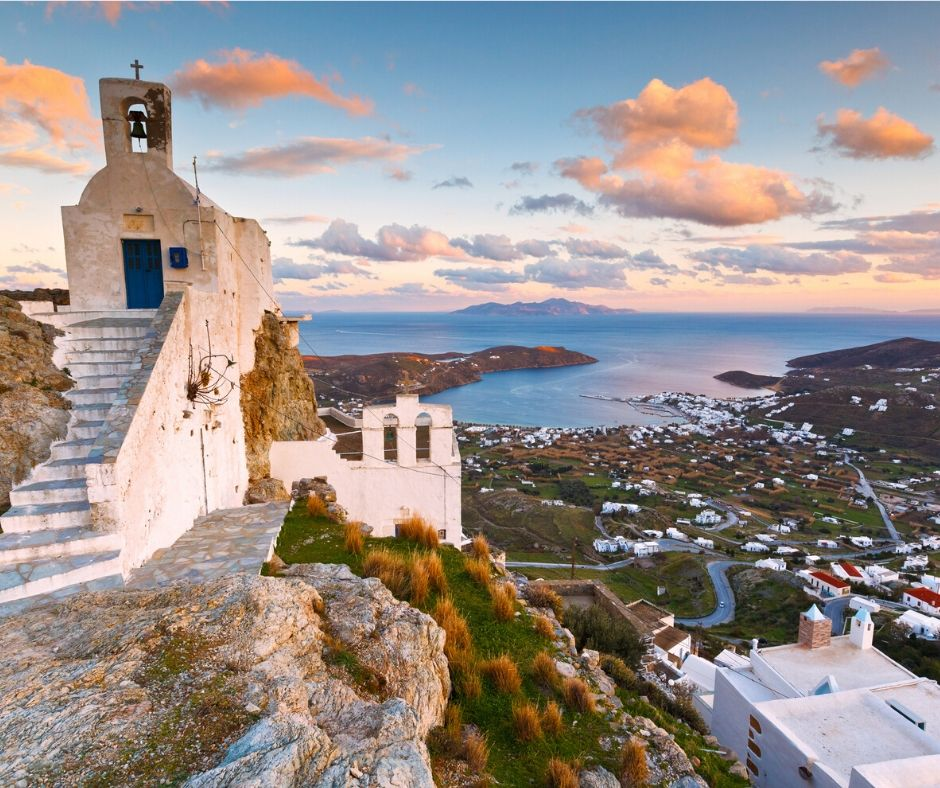 Astonishing Serifos views