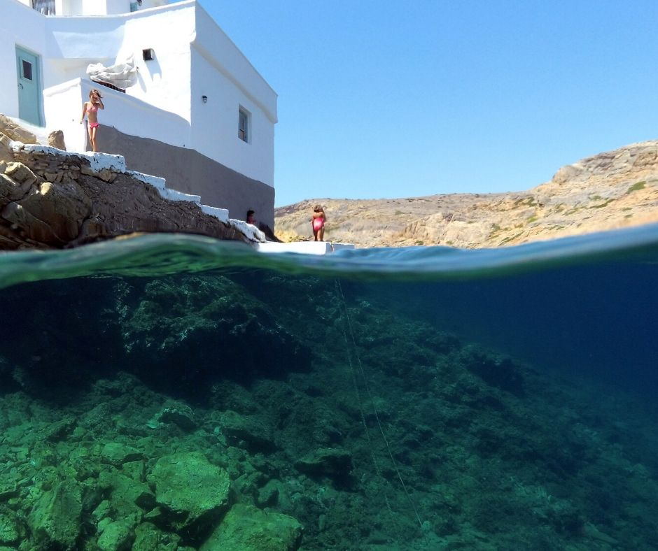 Sifnos' whitewashed towns