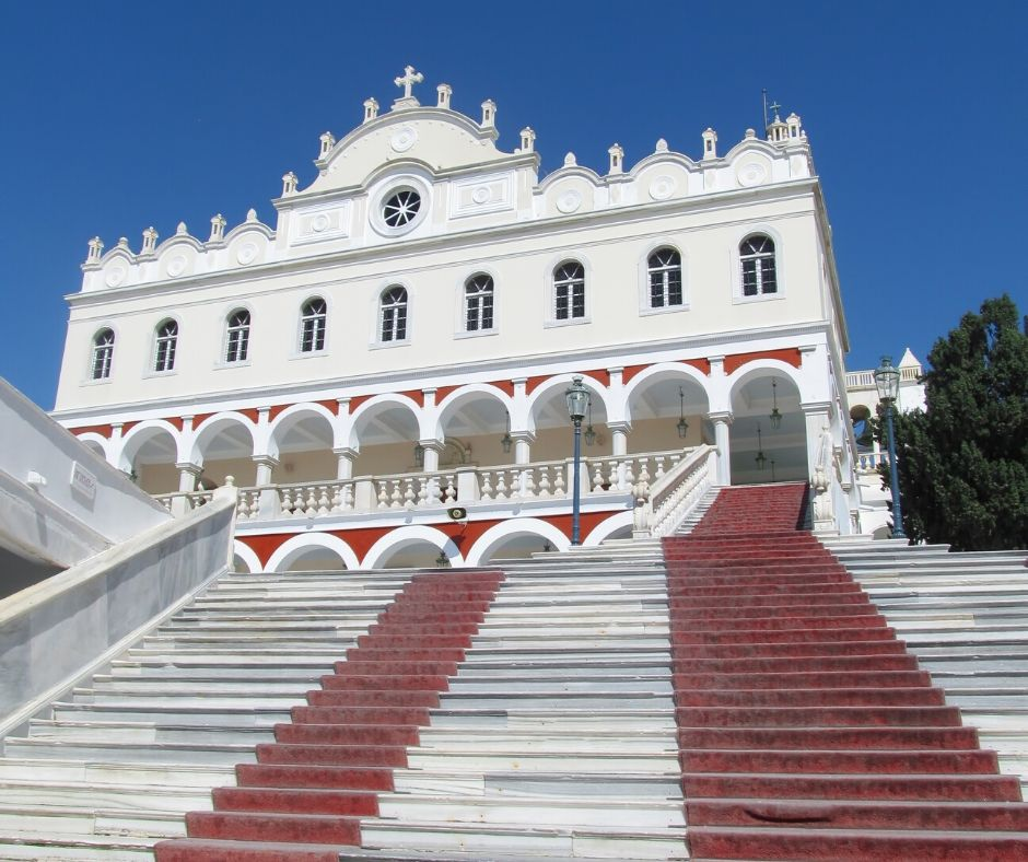 Palace in Tinos, Greece