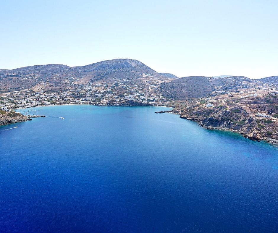Top views of Syros