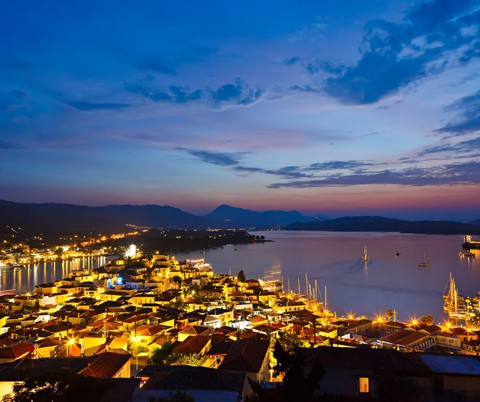 Poros, the most picturesque island capitals of Greece