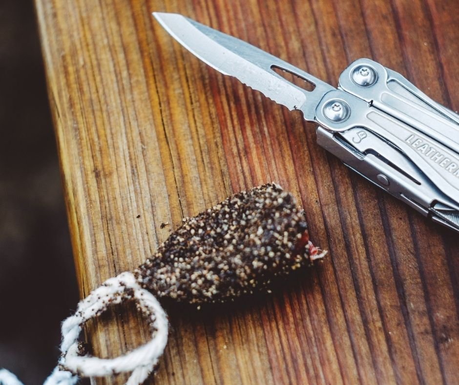 a leatherman multitool for a sailor
