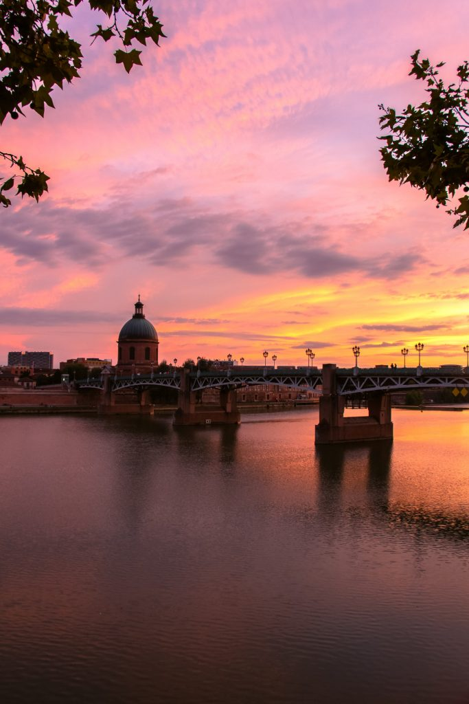 Toulouse, Canal du Midi, the pink city,