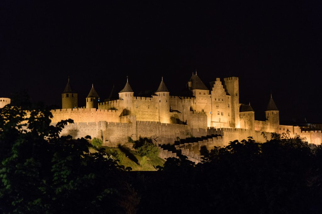 medieval city, Carcassone, medieval architecture, canal du midi itinerary