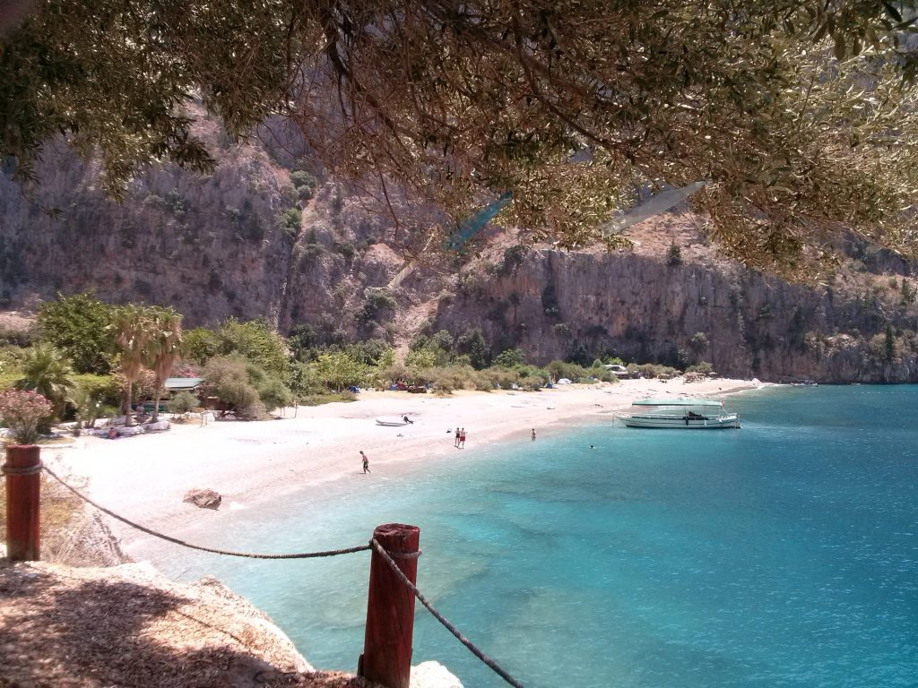 Butterfly Valley, the home of the beautiful Butterfly Beach, Turkey