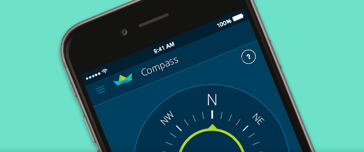 Nautal App Compass for boats