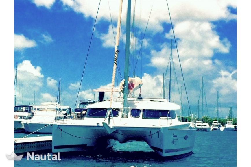 Catamaran Fountaine Pajot Lavezzi In Key West Harbour Florida Keys