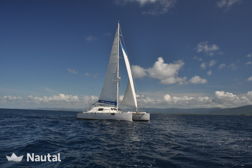 Catamaran rent Custom HERCHER BM 54 in San Blas, Colon