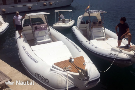 Rib rent NUOVA JOLLY King Extreme 990 in Port d'Andratx, Mallorca