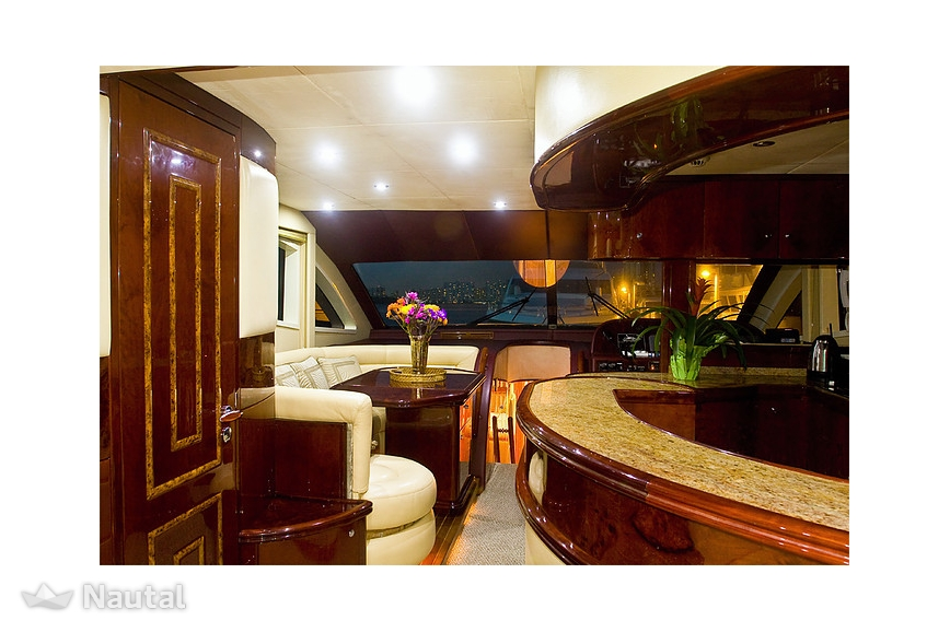 Yacht chartern Majesty 66\' im Miami Beach, South Florida | Nautal