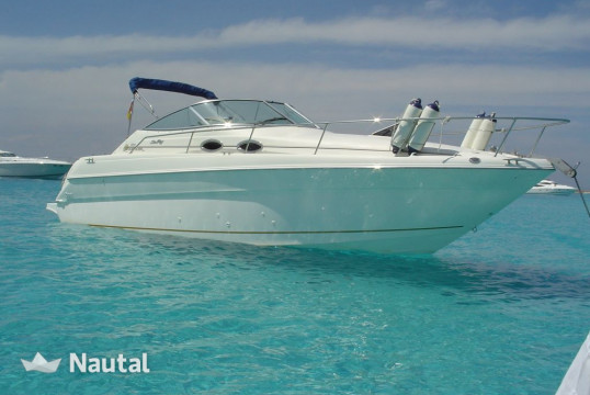 Huur motorboot Sea Ray 270 Sundancer in Puerto Portals, Mallorca