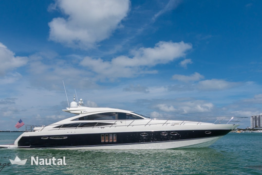 Yacht rent Viking Mouldings  Viking Princess in Miami Beach, South Florida