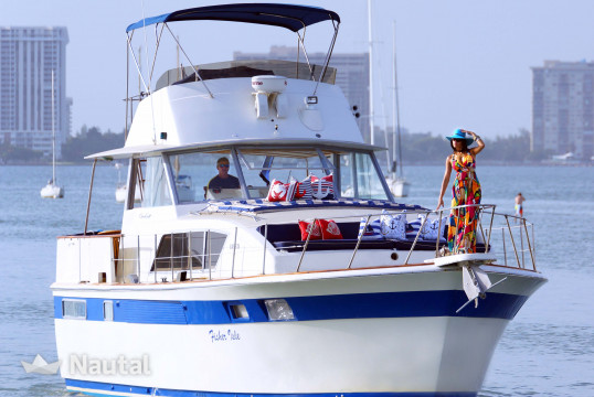 Motorboat rent Custom 45' in Miami Beach, South Florida