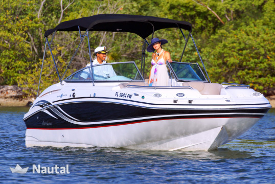 Motorboat rent Custom made 24' in Miami Beach, South Florida
