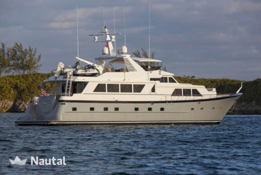 Louer yacht Custom Broward 103ft, Key West Harbour, Floride - Keys